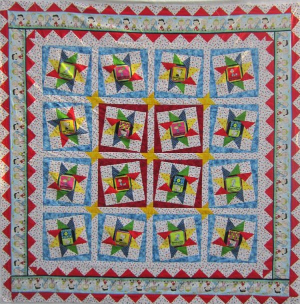 Happiness Is...Peanuts Quilt Kit