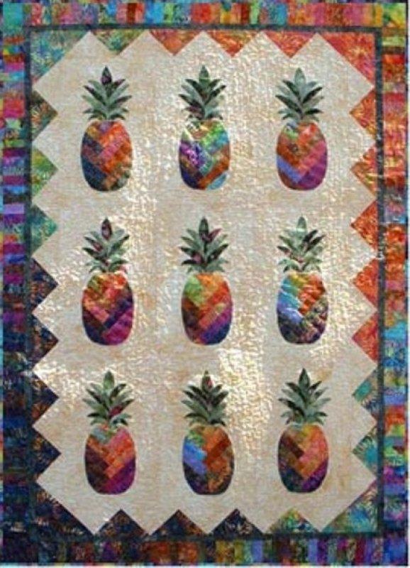 Sunshine Pineapple By Vicki Stratton