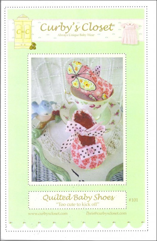 Quilted Baby Shoes