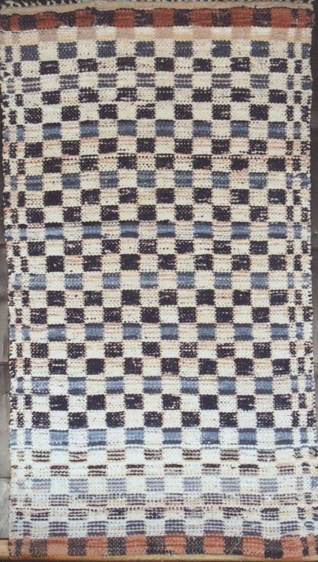 RAG CARPET SMALL RUNNER