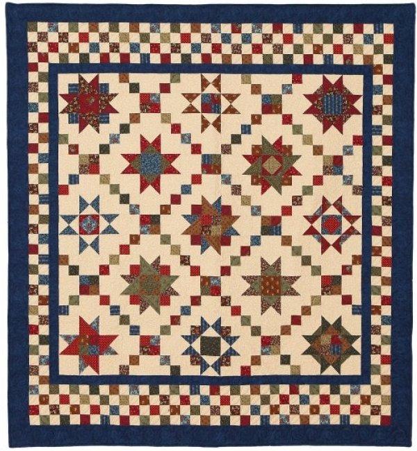 Checkerboard Stars