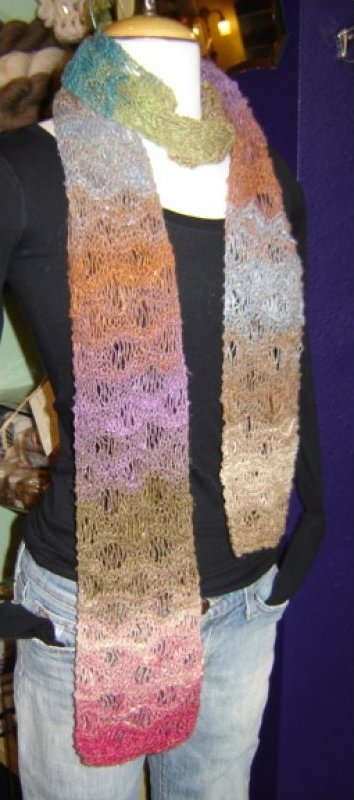 Noro Drop Stitch Scarf Pattern
