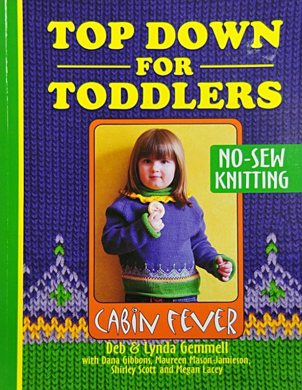 Knitting Pattern Books For Toddlers : Knitting Book: Top Down for Toddlers: KN1713