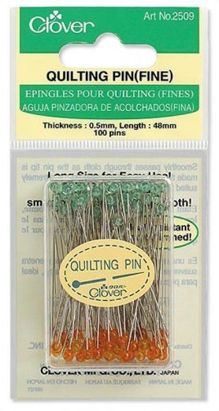 Quilting Pins (Fine) : clover quilting - Adamdwight.com