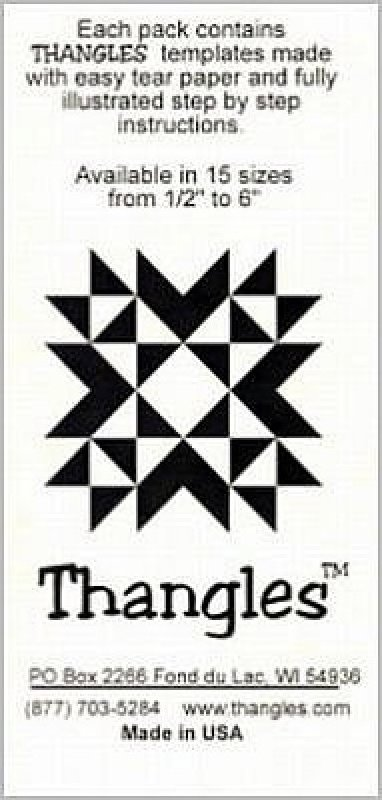 Thangles--For Half Square Triangle Making!