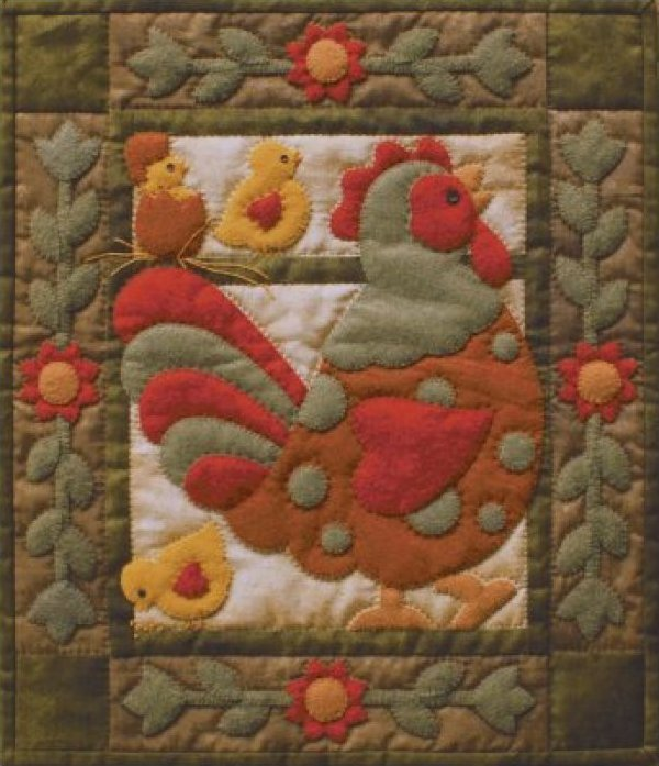 Rachel's of Greenfield Spotty Rooster Kit