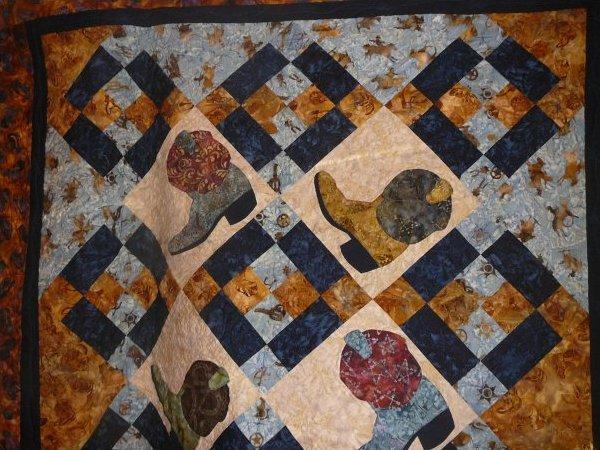 Texas holdem quilt pattern