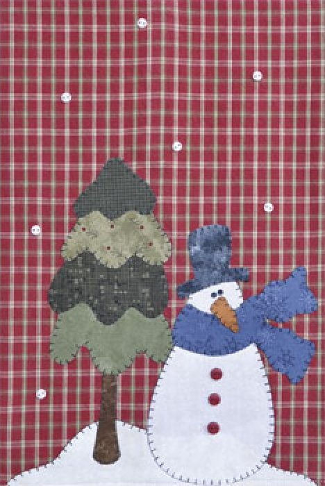 P18 Snowman & Tree Patternlet