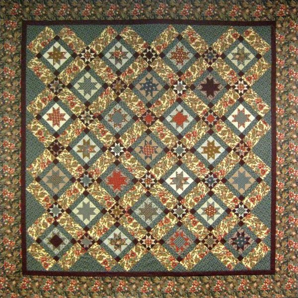 Greystone pattern for Red door design quilts
