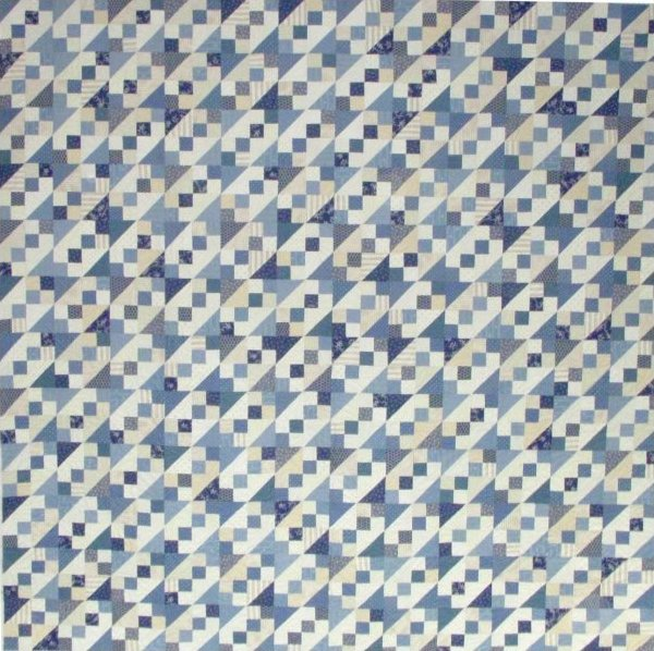 James River Blues Pattern by Paula Barnes