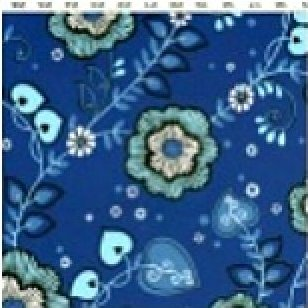 Sapphire Collection - Med. Blue Lg. Flower Y0771-30