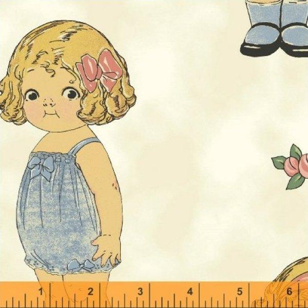 28116 x paper dolls by windham fabrics