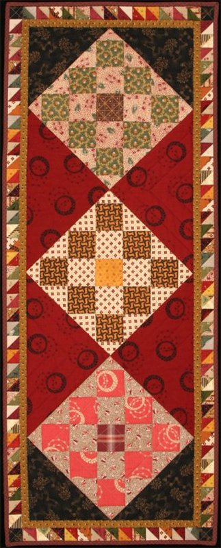 Checkerboard Table Runner - #1012