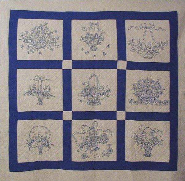 Redwork Quilting Patterns : Redwork Quilt Patterns