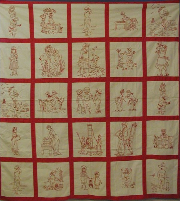 Redwork Quilt Patterns