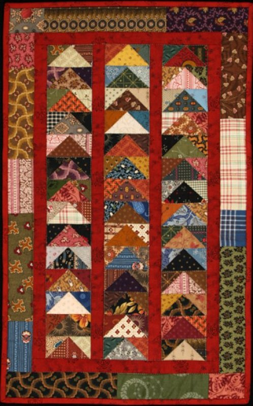 Stacked Geese Quilt - #1005