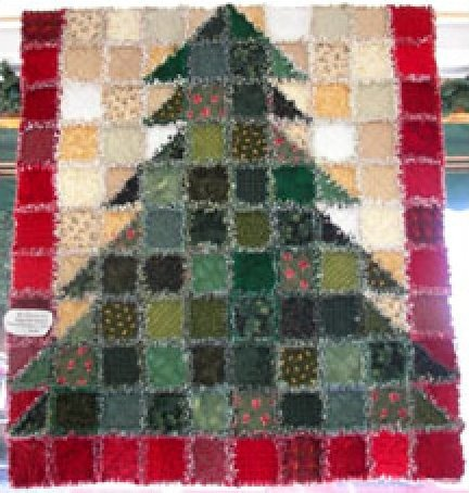 Christmas Rag Quilt Patterns Free Cafca Info For