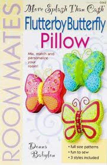 Flutterby Butterfly Pillow