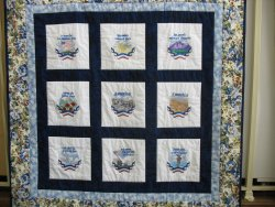 Embroidered Quilt - Machine Embroidery Shop