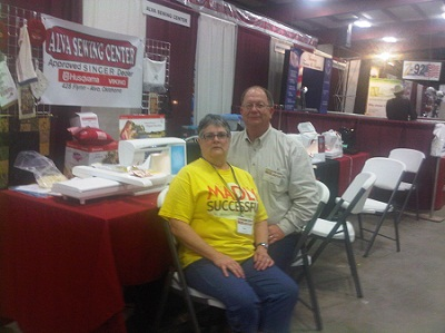 Owners of Alava Sewing Center in Alva, OK