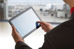 Man at Airport - Careers