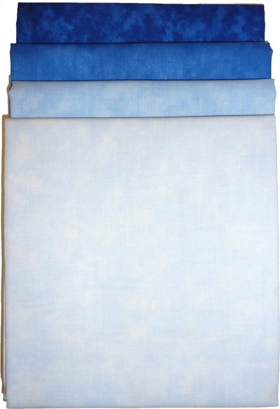 Fabric Pack: Blue
