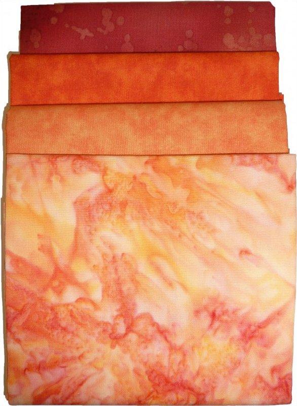 Fabric Pack: Orange