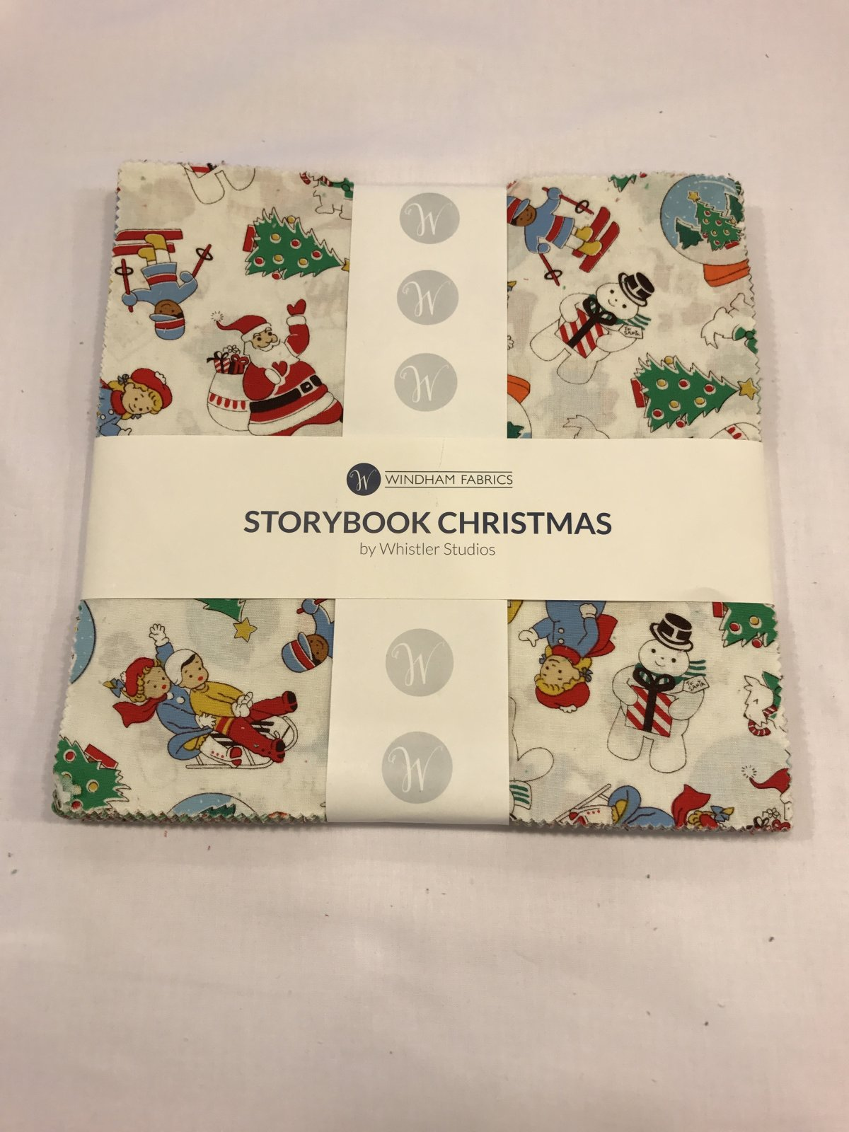 10 squares Storybook Christmas by Windham Fabrics