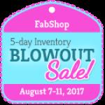 August blowout sale