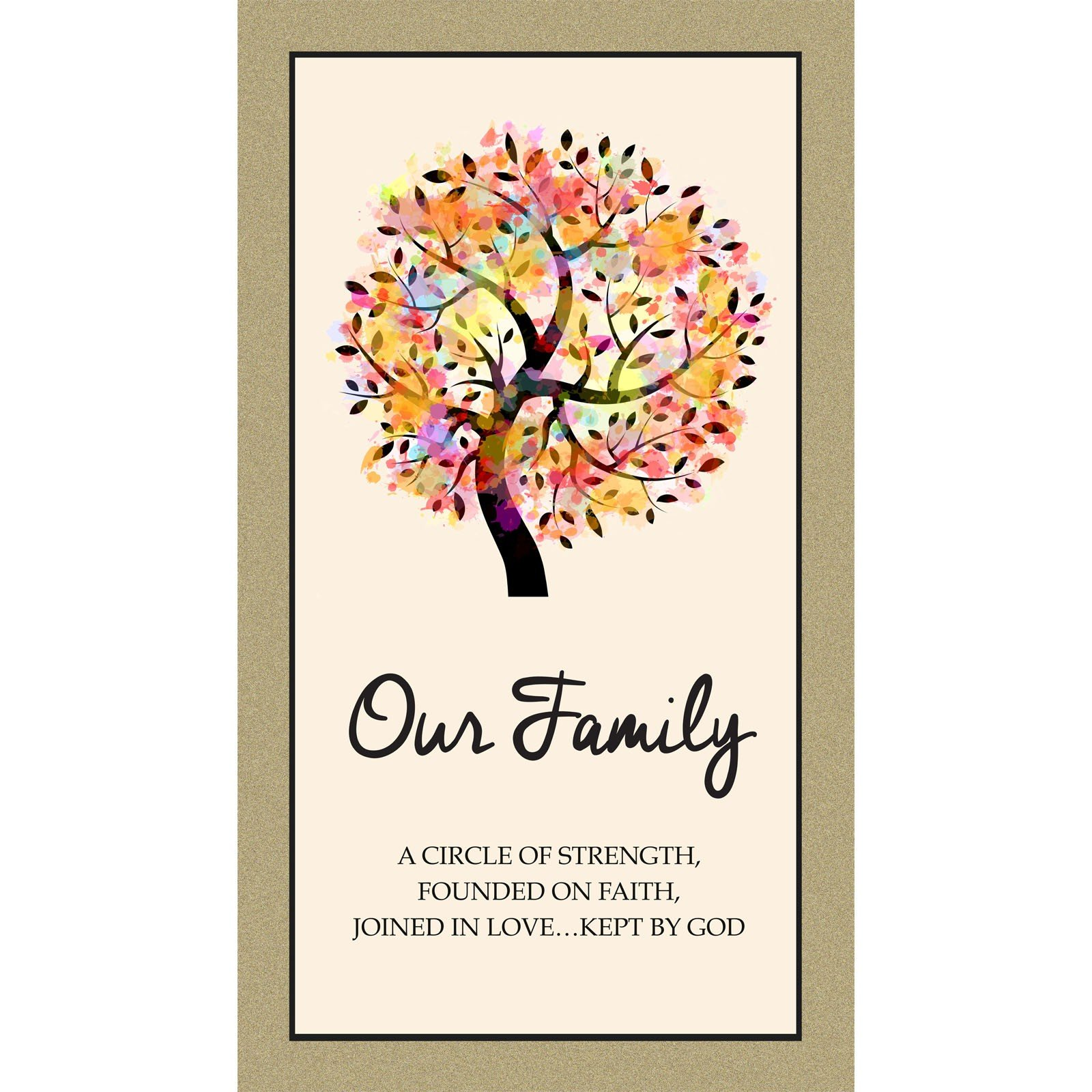 Kona Bay - Family Blessings-Digital Panel - 1DFAM 1