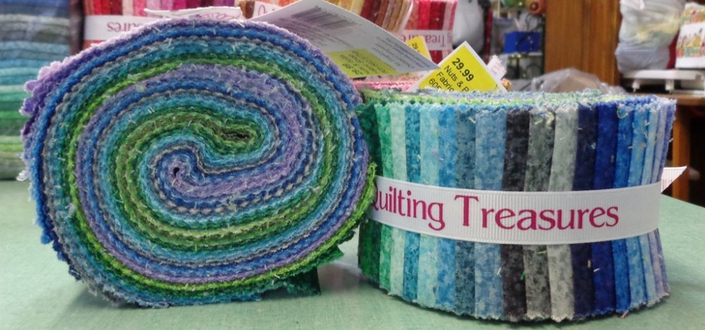 Quilting Treasures Color Blends Strips Cool 30
