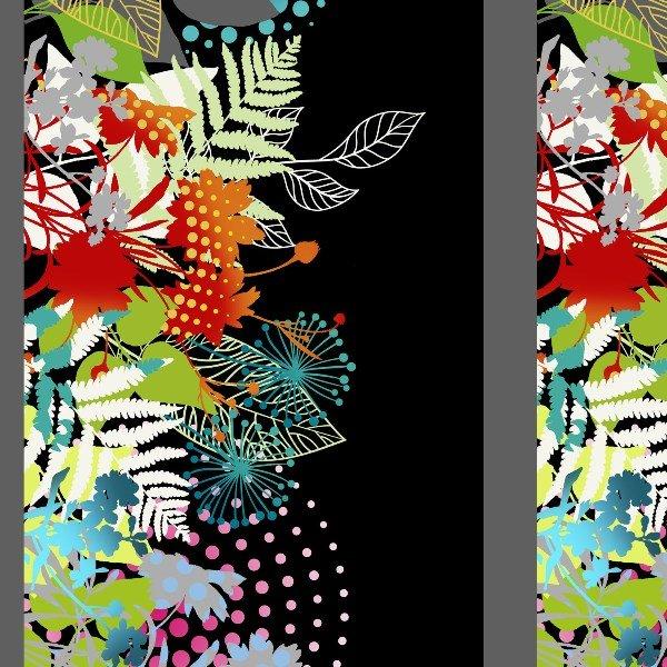 In The Beginning - Unusual Garden-Border Print/Red Multi - 2UG1