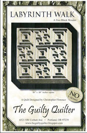 Labyrinth Walk - The Guilty Quilter - GQU02