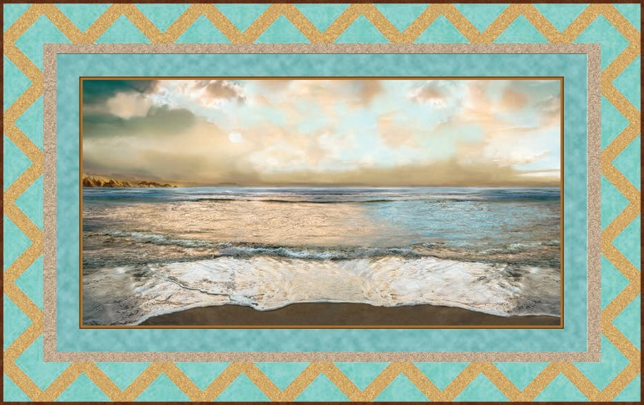 Nuance Beach Wall Hanging KIT - Quilting Treasures - 48 x 30