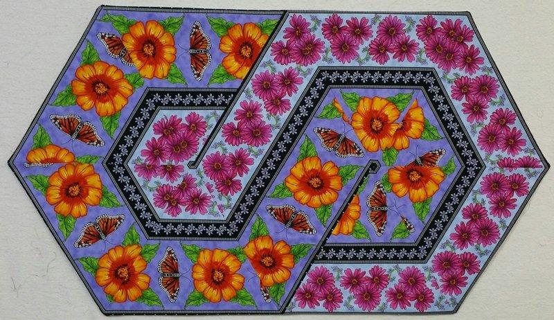 Triangle Frenzy Swirl - KIT - Prairie Gate