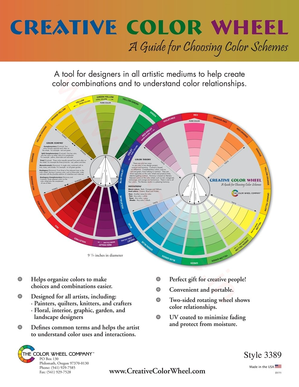 Handy dandy tools misc for Creative color wheel