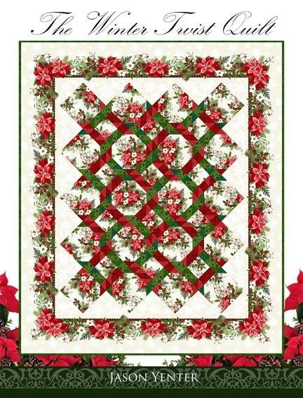 Winter Twist Quilt KIT -In The Beginning - 64 x 75