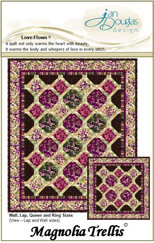 Magnolia Trellis Quilt Pattern