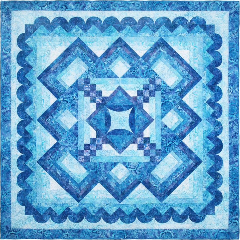 Tranquility Quilt Kit - Anthology Batiks