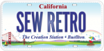 sew retro plate