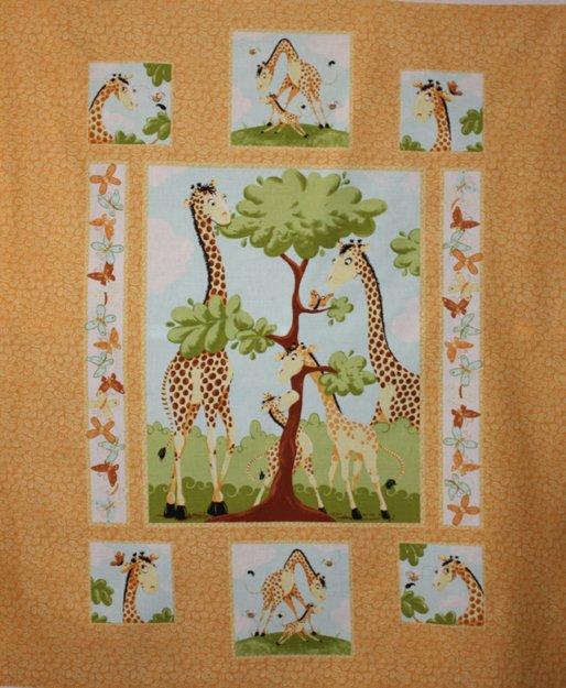 Susybee - Zoe, the Giraffe - tangerine