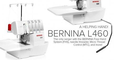 l460 BERNINA Serger | Studio BERNINA
