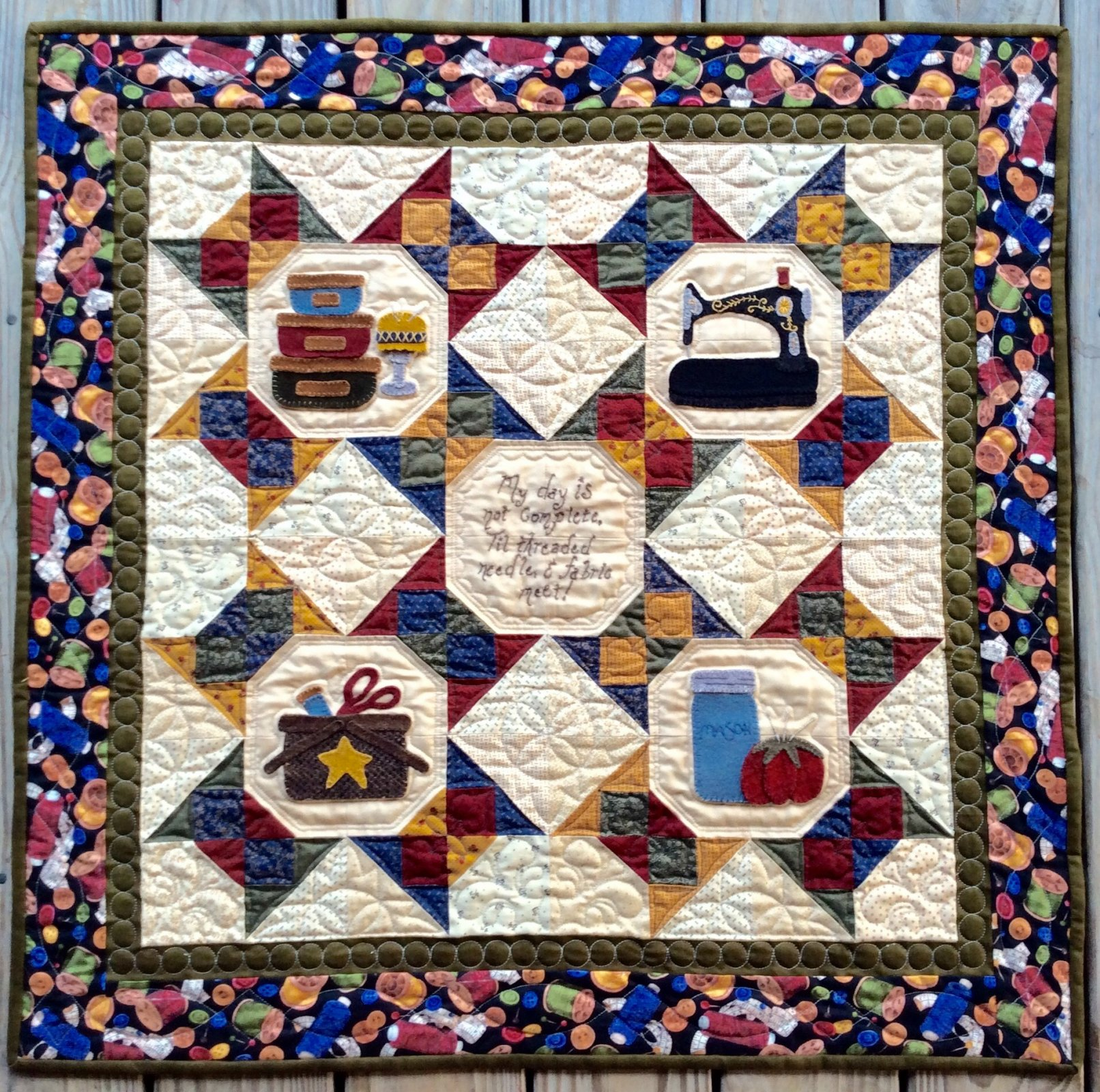 A Notion To Quilt