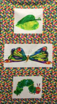 Andover's The Very Hungry Caterpillar 3 Panel