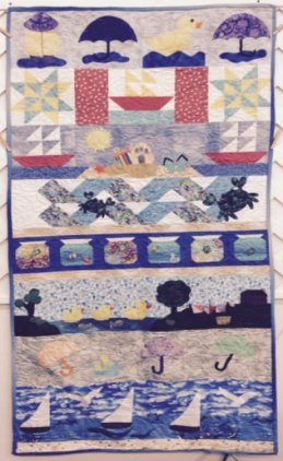 BPF 2015 Row By Row Winning Quilt