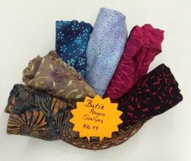 Batik Rayon Scarves