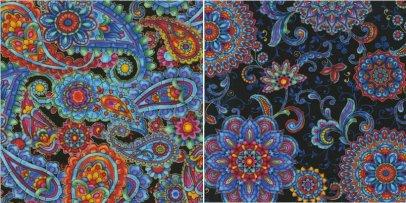 Timeless Treasures' Kaleidoscope