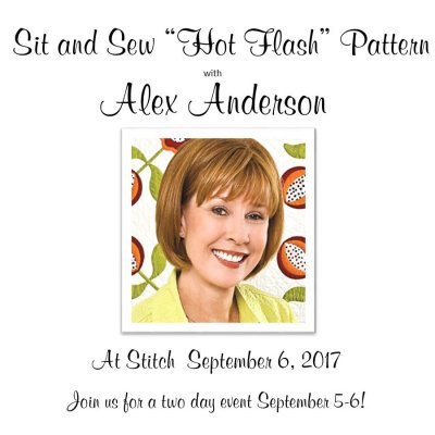 Alex Anderson Event Spetember 5-6, 2017