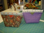 Sleepy Valley Quilt Co. - These cute purses were made by Sandra Foster and Holly Hansen. The pattern is