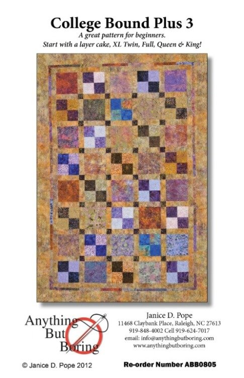Quilt Patterns For College Students : Quilt Patterns